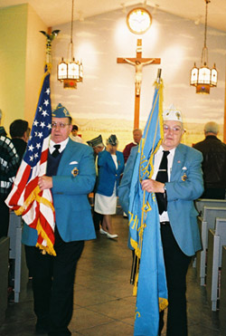 Recessional of the Catholic War Veterans