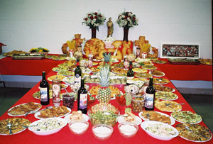 St Joseph Table