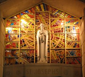 St. joseph Church window