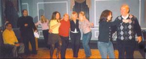 Gene Planera dances the Tarantella.