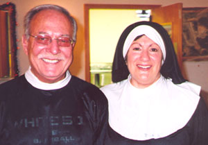Two members of unknown religious orders