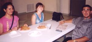 Susan Baggio, Caesarina Planera, and David Peterson
