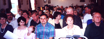 Sunday assembly at San Rocco Oratory