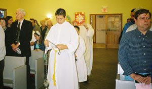Gospel Procession on Pentecost