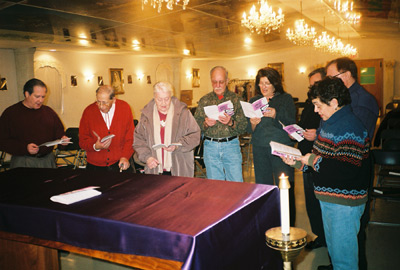 Vespers on Friday evening during Lent
