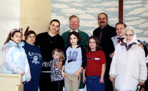 Ray Thomas Confirmation and First Communion