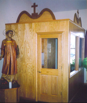 Confessional for San Rocco