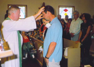 Blessing for 25th anniversary