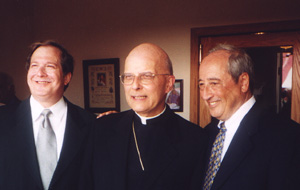 August Anzelmo, Cardinal George, and Mayor