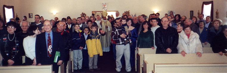 Holy Thursday at San Rocco, 2001