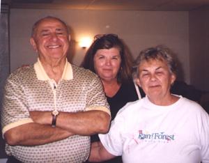 Virginio Piucci, Mary Lou Tomasewski, and Mrs. Piucci