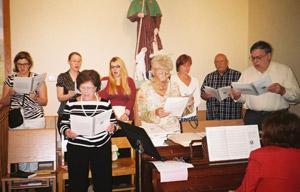 The San Rocco Choir on Pentecost Sunday