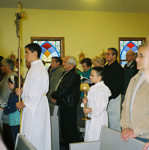 Entrance Procession for Pentecost Sunday, May 11, 2008