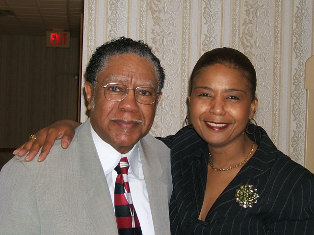 Pastor James Flint and Valerie Williams