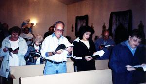 Vespers at San Rocco Oratory