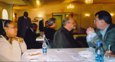 Local clergy of the area meeting at San Rocco Oratory