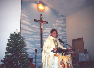Bishop Perry, Christmas 2000