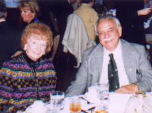 Mary Jean and Sam Argento, at the 2001 ACP Benefit