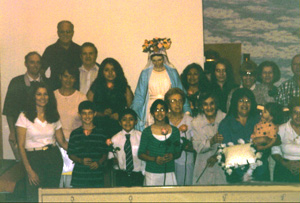 Part of the Congregation present for the May Crowning