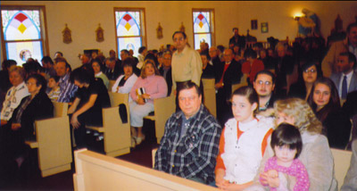 Again, Easter Sunday at San Rocco