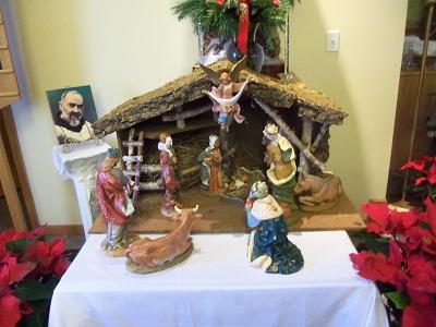Christmas Manger 2012