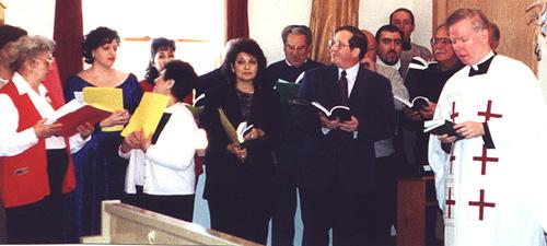 Choir at Christmas, 2000