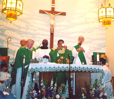 Sept 10 Centennial Mass with Bishop Perry