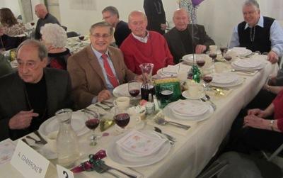 Angelo Ciambrone, Dominick Candeloro, Livio & Gene Planera and Gene Pancomo