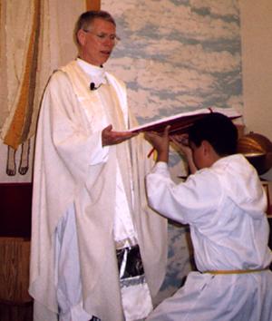 Father Charles Baumann, S.J.