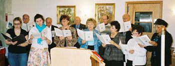 Easter Choir, singing Sunday Morning