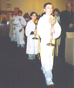 Gospel Procession Christmas 2004