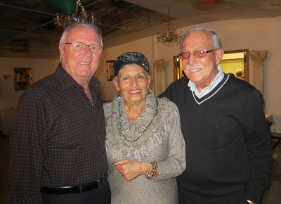 Gene Billo, Bev Green, and Frank Jobbe