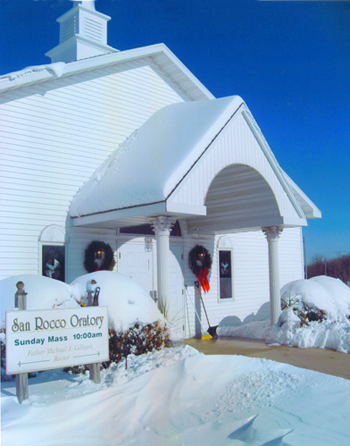 Sunday, Dec. 16, 2007: major snowstorm in the morning