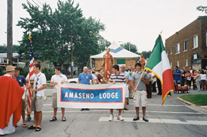 August, 2010: Beginning of San Lorenzo Procession