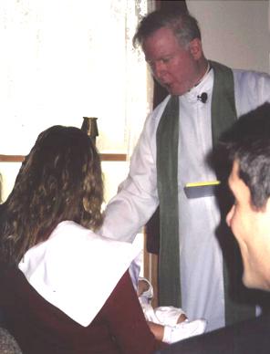 Baptism of John Max Santaniello