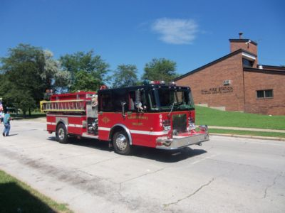 Fire truck from Chicago Heights