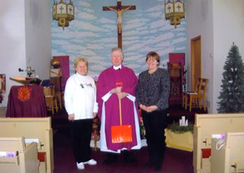 Dec. 16, 2007: Mirka and Barbara