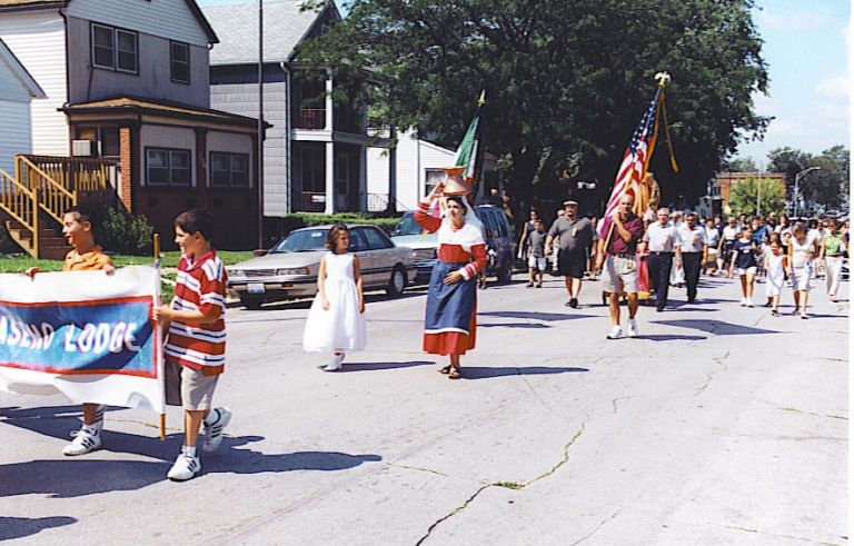 San Lorenzo Procession on 22nd Street