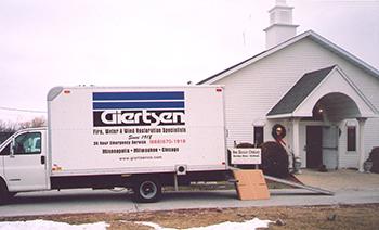 Giertsen arrives for restoration work