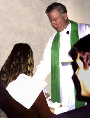 Baptism of John Max Santaniello IV