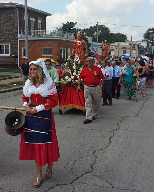 August 2016 San Lorenzo procession