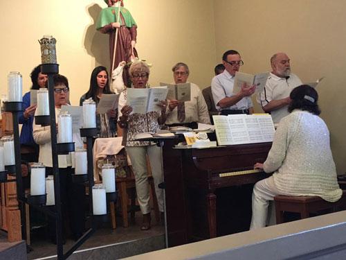 Easter 2016, Choir